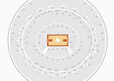 Texas Longhorns Basketball Seating Chart