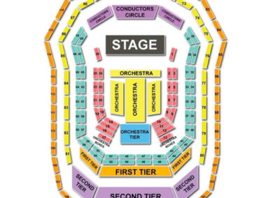 The Kimmel Center Seating Chart