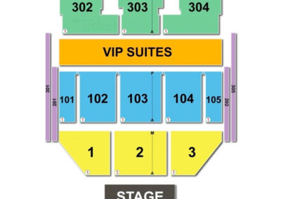 The Theater at MGM National Harbor Seating Chart Concert
