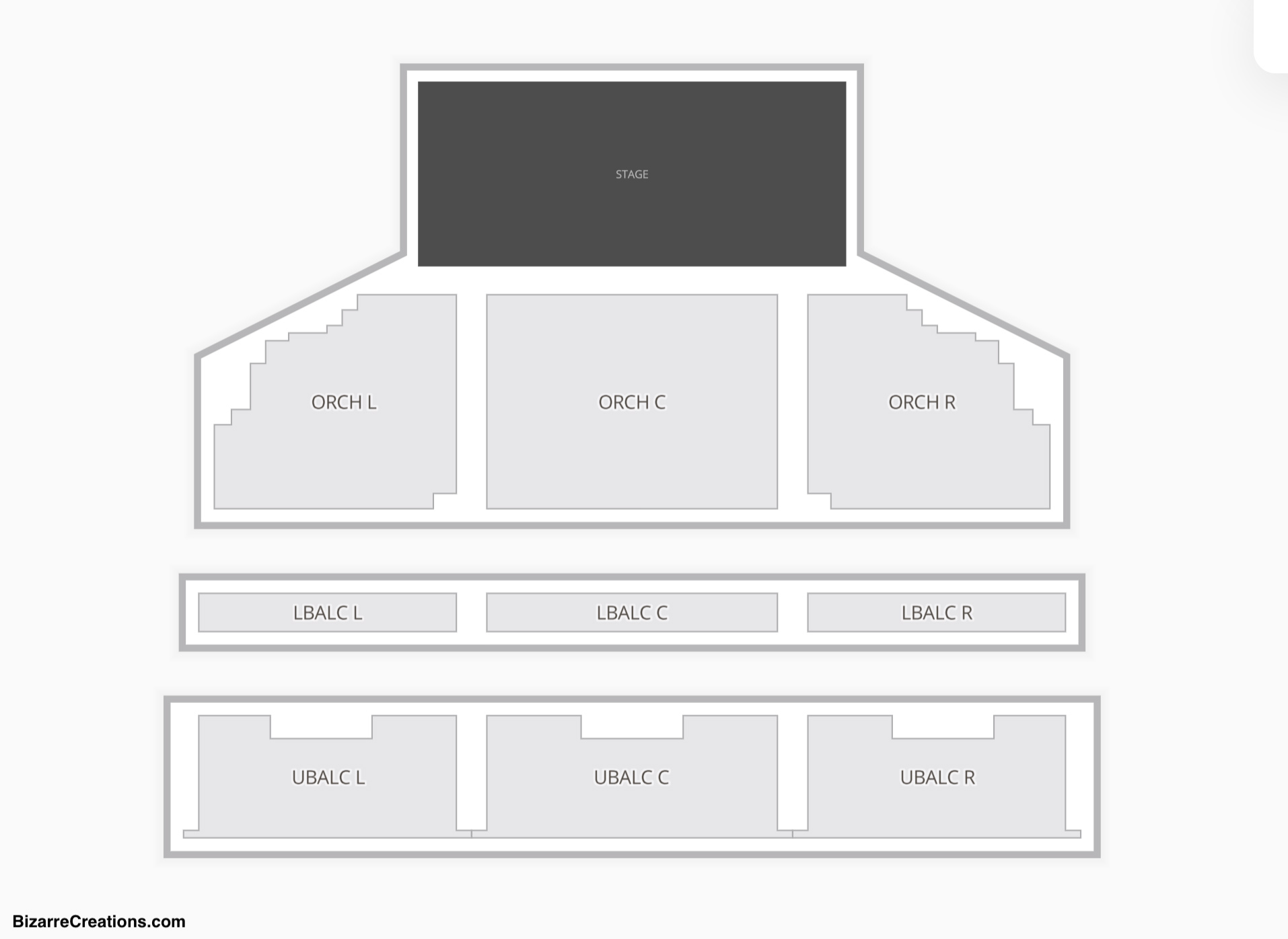 The Theatre at Ace Hotel Seating Chart