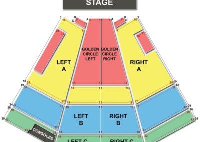 Van Wezel Performing Arts Hall Seating Chart Broadway Tickets National Sarasota