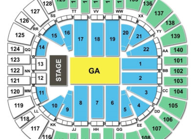 Vivint Smart Home Arena Concert Seating Chart