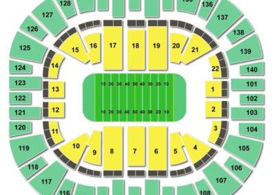 Vivint Smart Home Arena Seating Chart Football