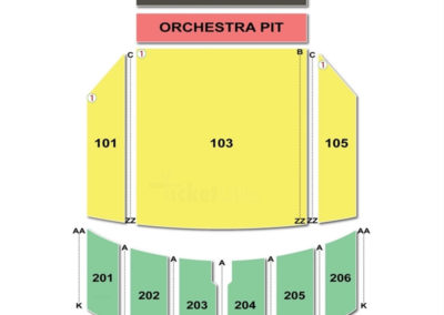Warner Theatre Erie Seating Chart