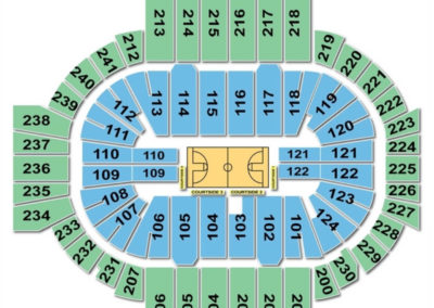 XL Center Seating Chart Basketball 2
