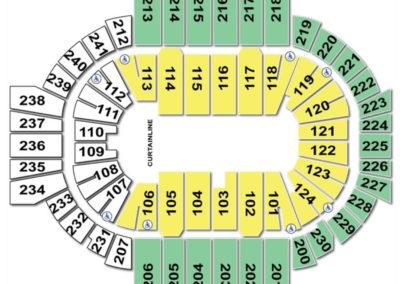 XL Center Seating Chart Circus