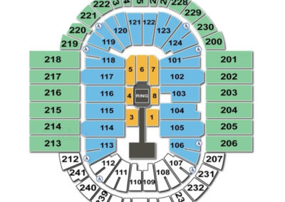 XL Center Seating Chart Concert