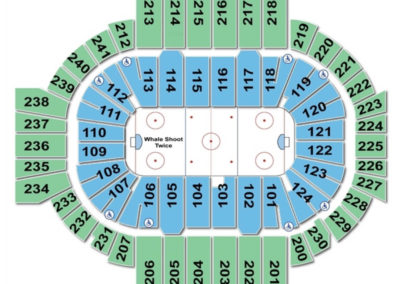 XL Center Seating Chart Hockey