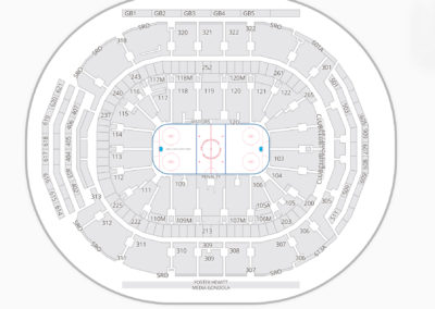 Air Canada Centre Hockey Seating Chart