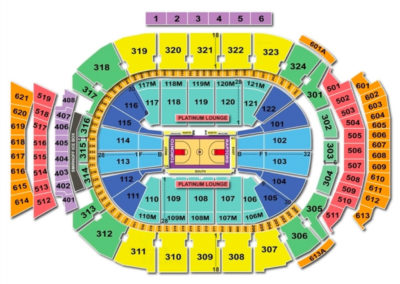 Air Canada Centre Seating Chart Basketball