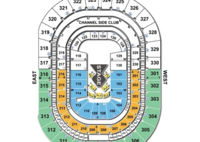 Amalie Arena Cirque Seating Chart