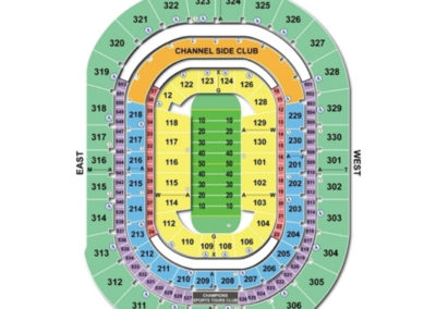 Amalie Arena Football Seating Chart
