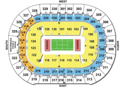 Amalie Arena Tennis Seating Chart