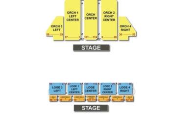 Beacon Theatre - New York Seating Chart