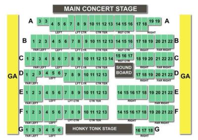 Billy Bob's Texas Seating Chart