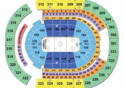 Bridgestone Arena Hockey Seating Chart