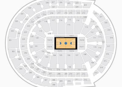 Bridgestone Arena NCAA Basketball Seating Chart