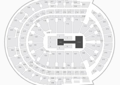 Bridgestone Arena WWE Seating Chart
