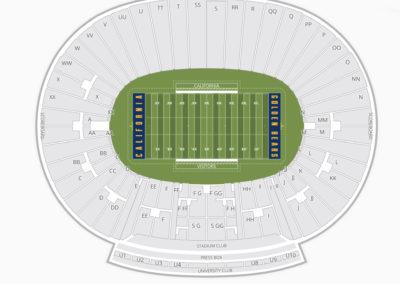 California Memorial Stadium Seating Chart