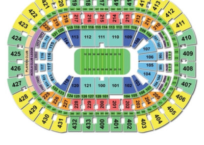 Capital One Arena Football Seating Chart