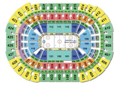 Capital One Arena Hockey Seating Chart