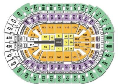 Capital One Arena wwe Seating Chart