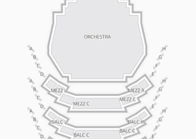 Carol Morsani Hall Seating Chart