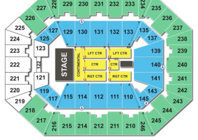 Charleston Civic Center Concert Seating Chart