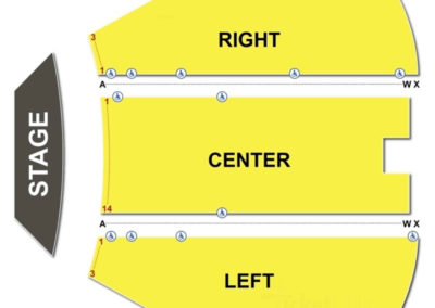 Charleston Civic Center Seating Chart Little Theatre