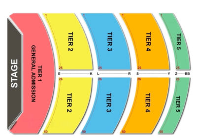 City National Grove Seating Chart