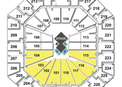 Colonial Life Arena Seating Chart Cirque