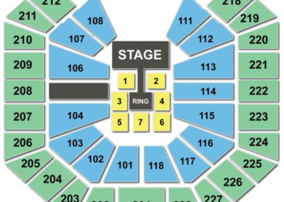 Colonial Life Arena Seating Chart WWE