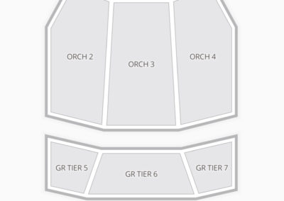 DPAC Seating Chart