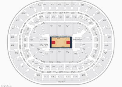 Georgetown Hoyas Basketball Seating Chart