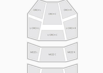 Hobby Center Seating Chart Concert