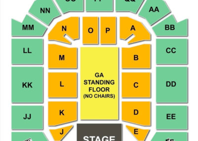 JQH Arena Concert Seating Chart