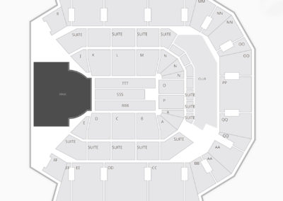 JQH Arena Seating Chart Concert