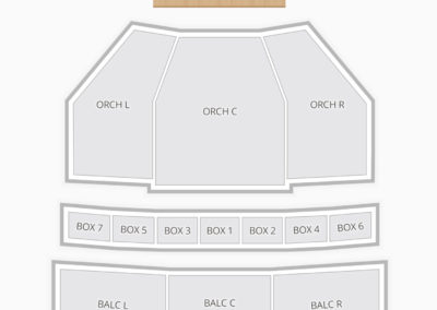Kennedy Center Eisenhower Theater Seating Chart