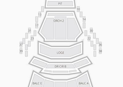 Mahaffey Theater Seating Chart