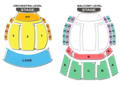 Mahaffey Theater Seating Chart Concert