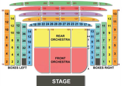 Metropolitan Opera Seating Chart New York