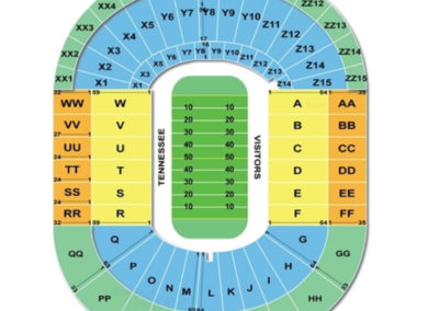 Neyland Stadium Football Seating Chart