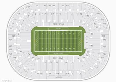 Notre Dame Fighting Irish Football Seating Chart