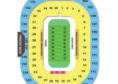 Notre Dame Stadium Football Seating Chart