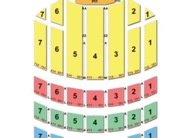 Radio City Music Hall Concert Seating Chart