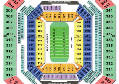 Raymond James Stadium Football Seating Chart