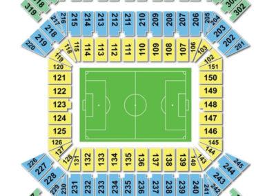 Raymond James Stadium Soccer Seating Chart