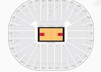 San Diego State Aztecs Basketball Seating Chart