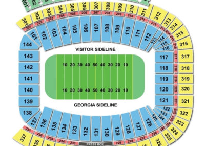 Sanford Football Seating Chart