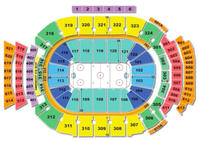 Scotiabank Arena Seating Chart Hockey